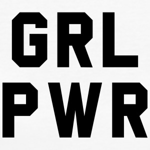 Girl Power - T-shirt ecologica da donna