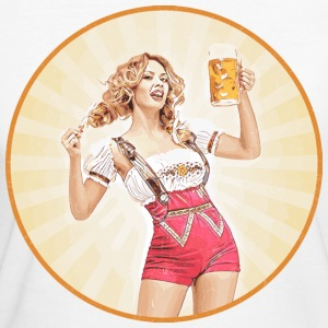Oktoberfest Beer Girl 721541 - Women's Organic T-shirt