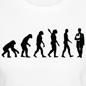 evolution ARZT Black - Frauen Bio-T-Shirt