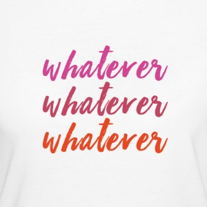 whatever forever - Women's Organic T-shirt