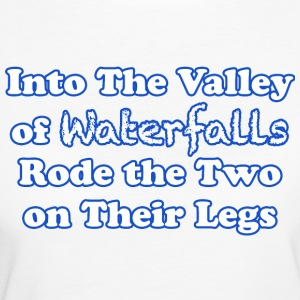 Rode the Two on their legs - Women's Organic T-shirt