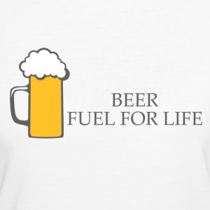 BIRRA: Fuel for Life - T-shirt ecologica da donna