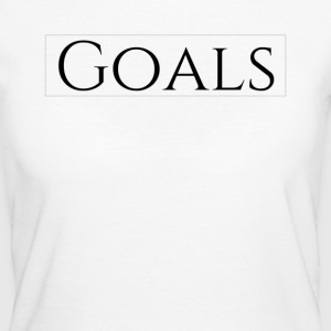 Goals - Frauen Bio-T-Shirt
