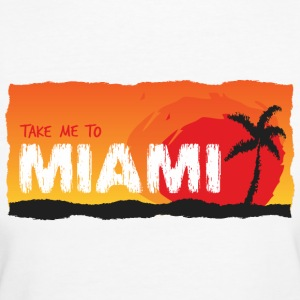 Take Me To Miami - Vrouwen Bio-T-shirt