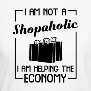 I am helping the economy - Women's Organic T-shirt