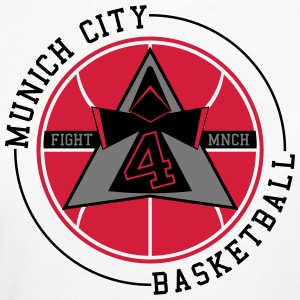 Munich City Basketball - T-shirt ecologica da donna
