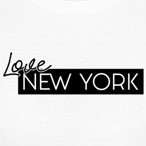 Love NEW YORK by HermzCollection - Women's Organic T-shirt