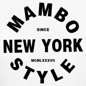 Mambo New York Style - Salsa Dance shirts - Organic damer