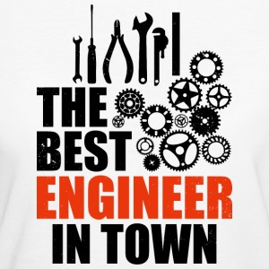 Best Engineer In Town - Women's Organic T-shirt