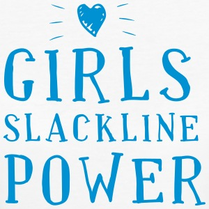 Girls Slackline Power - T-shirt Bio Femme