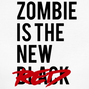 Zombie: Zombie Is The New Red - Women's Organic T-shirt
