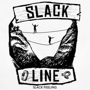 Slackline World - Women's Organic T-shirt