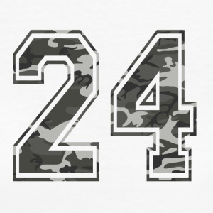 Numbers Camouflage Paintball Bundeswehr 24 - Women's Organic T-shirt