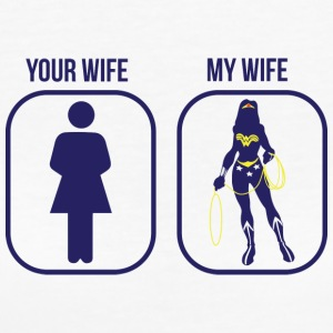 Comparison: Your Wife vs. My Wife - Women's Organic T-shirt