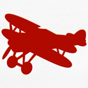 Toy airplane biplane - Women's Organic T-shirt
