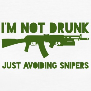 Military / Soldiers: I'm not drunk. Just avoiding - Women's Organic T-shirt