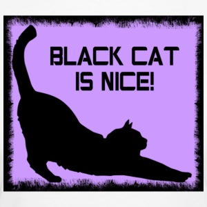 BLACK_CAT-jpg - T-shirt ecologica da donna