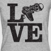 Love Gaming - Cool Designs For Gamer - Women's Organic T-shirt