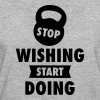 Stop Wishing Start Doing - Frauen Bio-T-Shirt