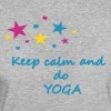 Keep calm and do Yoga, yoga shirts, yoga tops - Frauen Bio-T-Shirt