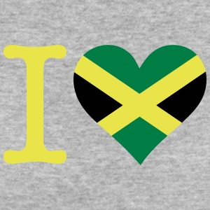 I Love Jamaica - Women's Organic T-shirt