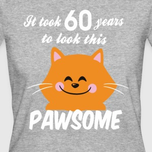 It took 60 years to look this pawsome - Women's Organic T-shirt