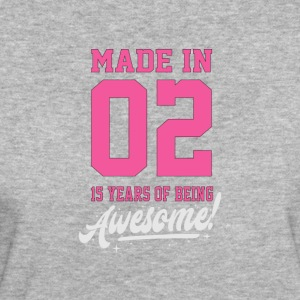 MADE IN 2002 - 15th BIRTHDAY - Women's Organic T-shirt