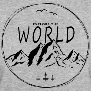 Explore the world - Frauen Bio-T-Shirt