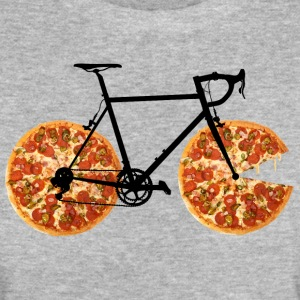 Pizza Bike - Vrouwen Bio-T-shirt