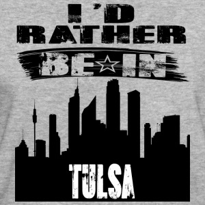 Gift Id rather be in Tulsa - Women's Organic T-shirt