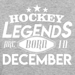Hockey Legends is Geboren in december - Vrouwen Bio-T-shirt