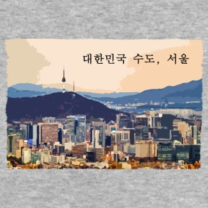 Seoul at Sunset - Women's Organic T-shirt