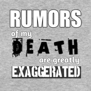 Exaggerated rumor of death - Women's Organic T-shirt