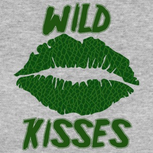Lipstick / mouth / kiss mouth: Alligator Wild Kiss - Women's Organic T-shirt