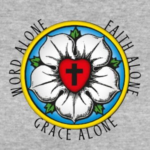 Luther. Rose. Word-Grace-Faith Alone. Reformation. - Frauen Bio-T-Shirt
