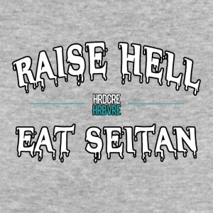 Raise Hell EAT SEITAN (HRDCRE HRBVRE) ROPA VEGANO - Camiseta ecológica mujer