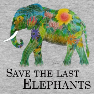 Protect the last elephants - Women's Organic T-shirt