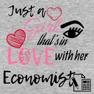 Just a girl that's in love with her economist - Women's Organic T-shirt