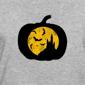 Pumpkin with creep lock - Women's Organic T-shirt