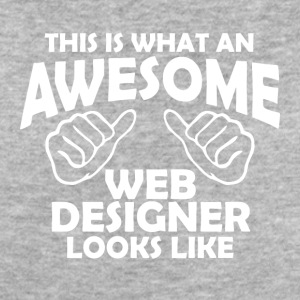awesome web designer - Women's Organic T-shirt
