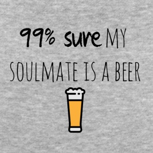 My soulmate is a beer - Frauen Bio-T-Shirt
