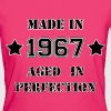 Made in 1967 - Vrouwen Bio-T-shirt