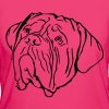 Tête de Dogue de Bordeaux - Women's Organic T-shirt