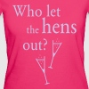 Who let the hens out? (Hen Party) - Women's Organic T-shirt