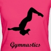Turnen, Salto, Turnerin, gymnastics - backflip - Frauen Bio-T-Shirt