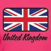 National Flag of the United Kingdom - Women's Organic T-shirt