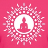 Buddha meditation, yoga, Buddhism, enlightenment - Women's Organic T-shirt