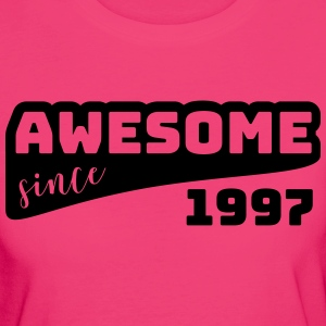 Awesome since 1997 / Birthday-Shirt - Women's Organic T-shirt