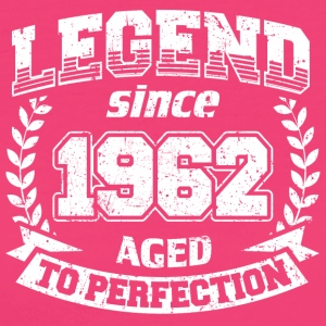 LEGEND VINTAGE depuis 1962 Mûr à point - T-shirt Bio Femme