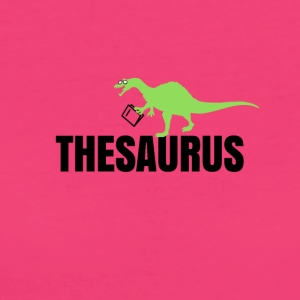 Meet the thesaurus - Frauen Bio-T-Shirt